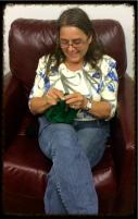 Bobbi Knitting