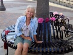 Christine on Bench