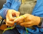 Finger Crocheting