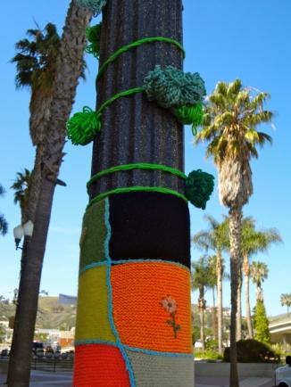Green Pole Close Up