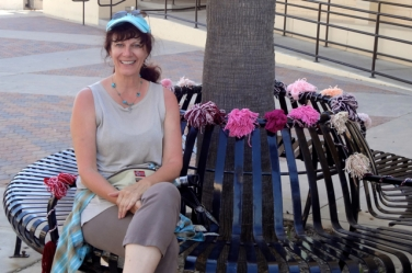 Lise on Bench