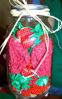Mason Jar Washcloth