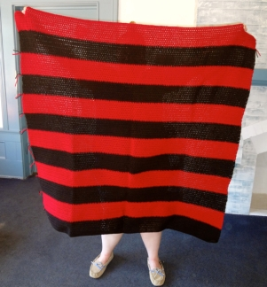 Red-Black Blanket