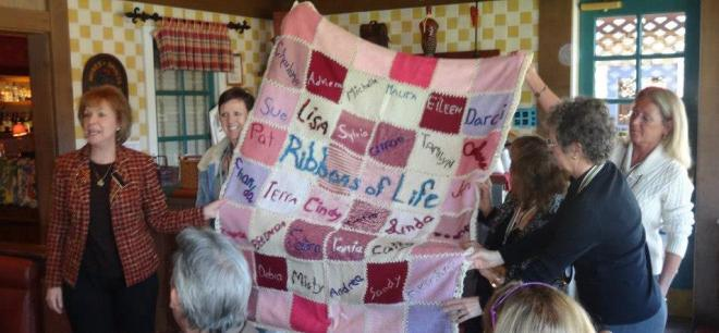 ROL Quilt at Gratitude Breakfast