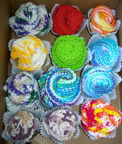 Washcloth CupCakes