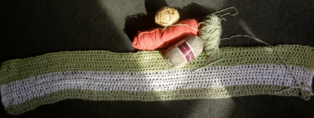Yarn and Sage Blanket