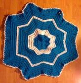 blue-round-blanket