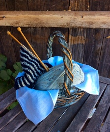 community-basket-blue-white