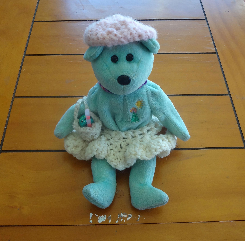 Crochet Sweet Bear in Dress Free Plush Pattern   3009x3057