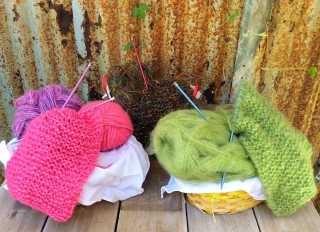 Community Scarf Baskets
